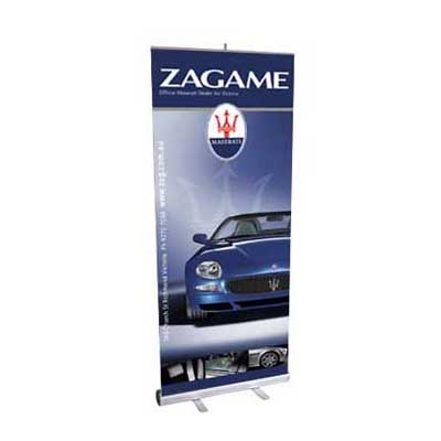 1 x Pop Up Banner - Full Colour + FREE Carry Bag